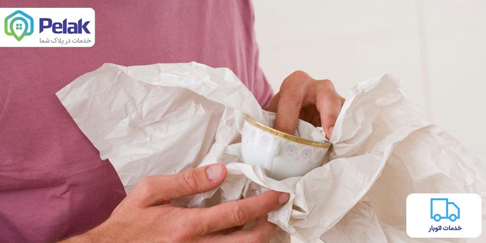 آموزش بسته بندی ظروف شکستنی در اسباب کشی