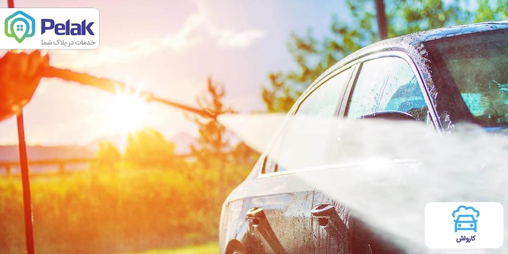 راهنمای پاککردن شیره درختان از روی ماشین