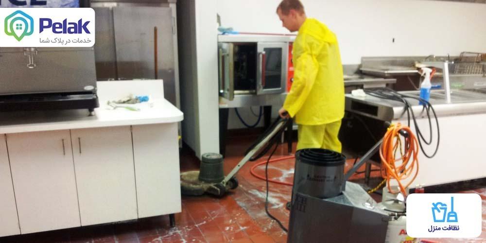 ترفند های نظافت آشپزخانه