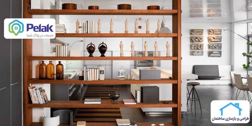 ایده های خلاقانه برای پارتیشن بندی و جداسازی فضای منزل