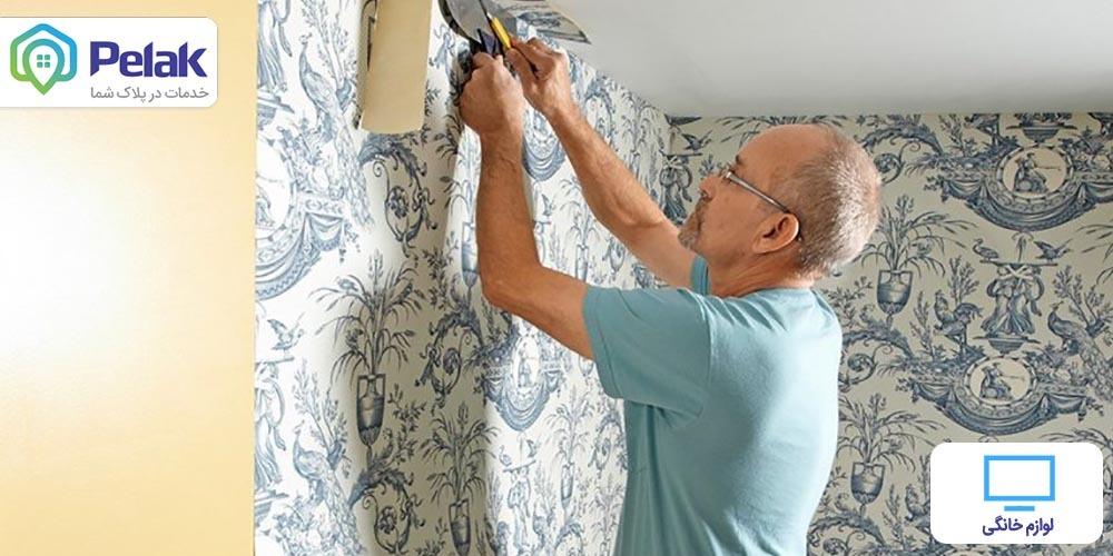 علت باد کردن کاغذ دیواری و روش جلوگیری از آن
