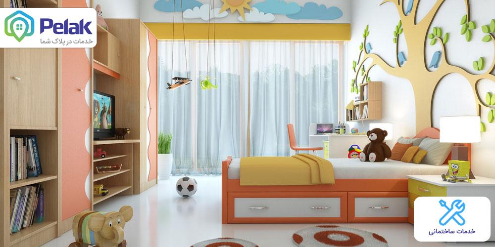رنگ-و-نقاشی-اتاق-کودک